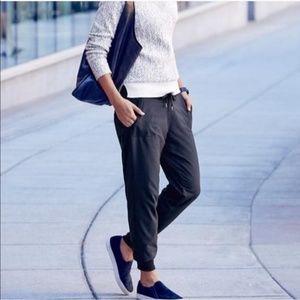 Athleta City Jogger Black Double Lined Pants